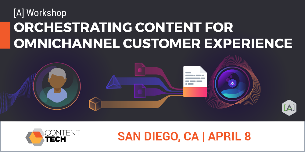 ContentTECH Summit Workshop with [A]'s Director of Content Intelligence Strategy