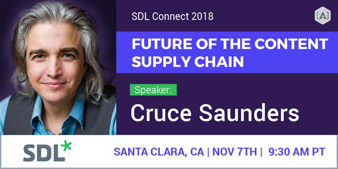 SDL Connect 2018: The Future of the Content Supply Chain