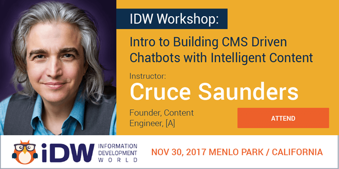 Attend [A]'s Chatbot Workshop at IDW