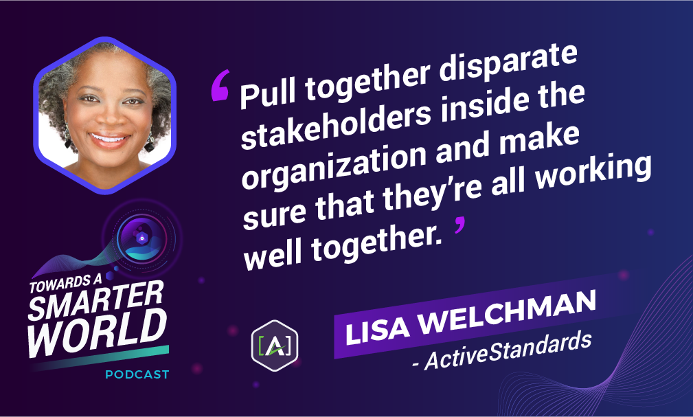 Pull together disparate stakeholders inside the organization and make sure that they're all working well together.