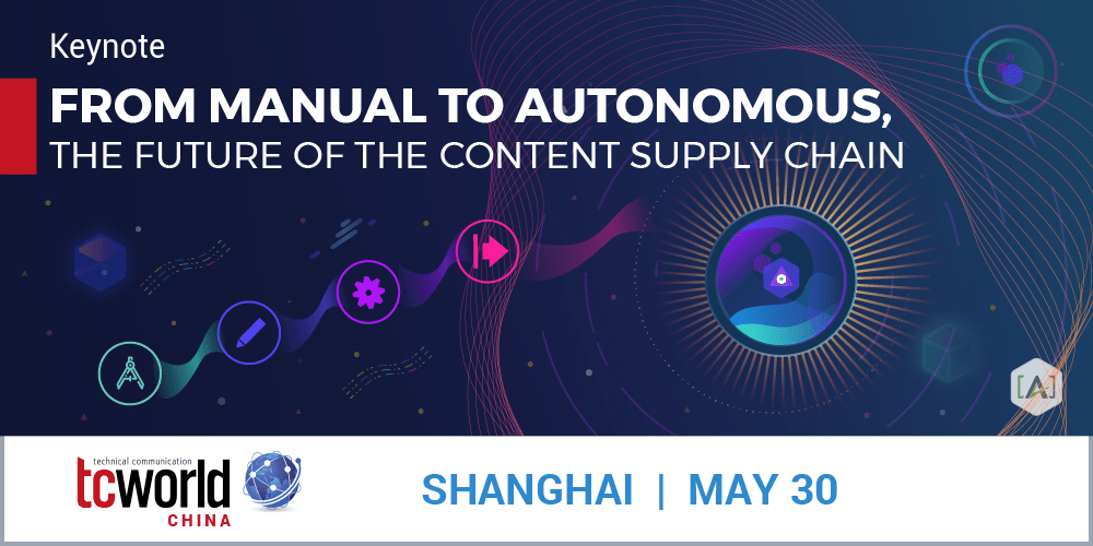 tcworld China Keynote: