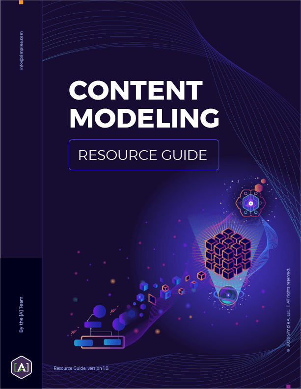 Content Modeling Resource Guide
