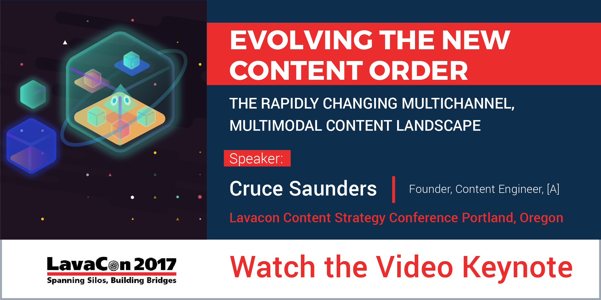 LavaCon Content Strategy Conference: [A]'s Founder Cruce Saunders Presents