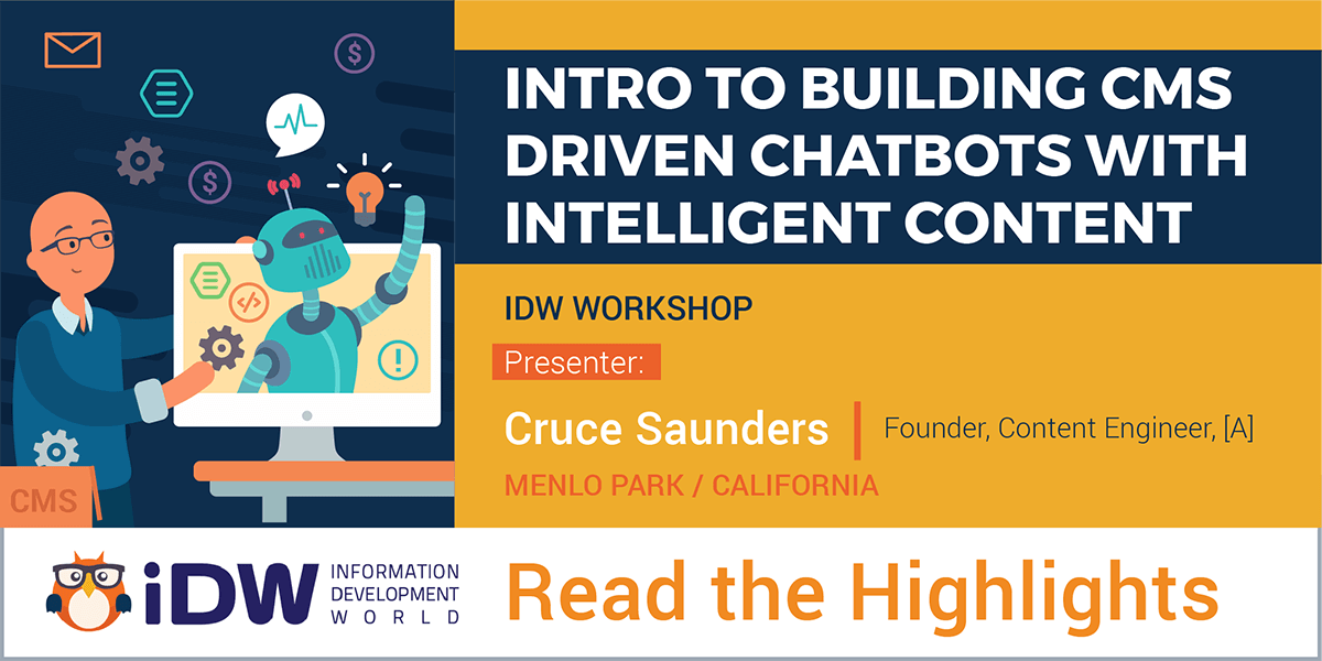 Highlights from [A]'s Chatbot Workshop at IDW