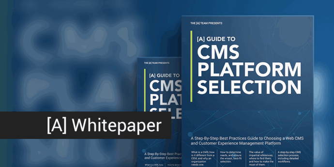 [A] Guide to CMS Platform Selection