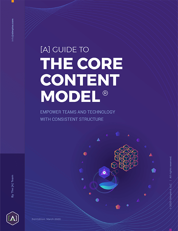 [A] Guide to the Core Content Model